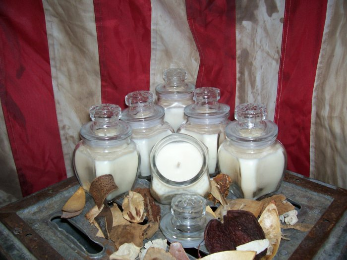 50 Wholesale 8 oz. Jar Candles ~ U choose up to 10 Scents