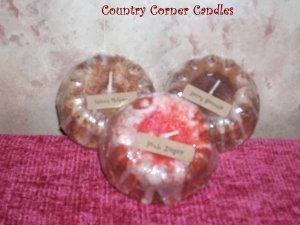 25 ~ Wholesale Bunt Cake Candles ~ U Choose Scents ~