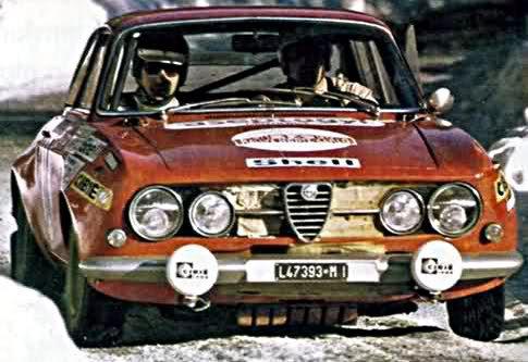 J.L. Barailler Alfa Romeo Giulia GTAm 1971 Monte-Carlo Rally - Rally Car Photo Print