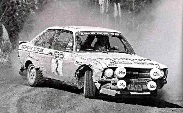 Ari Vatanen Ford Escort RS1800 Rally of New Zealand 1977 - Rally Car Photo Print