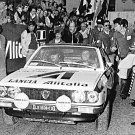 Amilcare Ballestrieri Lancia Beta 1975 Monte-Carlo Rally - Rally Car Photo Print