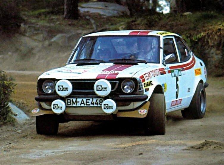 Hannu Mikkola Toyota Corolla 1976 Rally of Portugal - Rally Car Photo Print