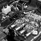 1970 Works Lancia Fulvia 1600 HF Engine - Rally Car Photo Print