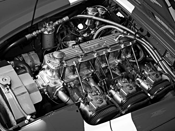 1967 Works Austin Healey 3000 MkIII Engine - Rally Car Photo Print