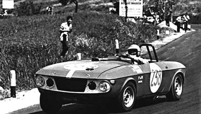 Rauno Aaltonen Lancia Fulvia Barchetta 1969 Targa Florio - Rally Car Photo Print