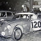 Hopkirk-Liddon Austin Healey 3.0 at 1963 Liege-Rome-Liege Marathon - Rally Car Photo Print