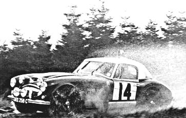 Makinen-Easter Austin Healey 3.0 at 1965 Lombard R.A.C. Rally - Rally Car Photo Print