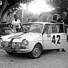 Rob Slotemaker Daf Daffodil 850 Proto at 1966 Tour de Corse - Rally Car Photo Print