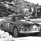 Alfa Romeo Giulietta Sprint 1962 Monte-Carlo Rally - Rally Car Photo Print