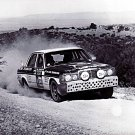 Andrew Cowan Mercedes-Benz 280E 1977 London to Sydney Marathon Winner - Rally Car Photo Print