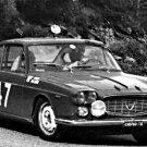 Lancia Flavia Coupé racing at 1963 Tour de Corse - Rally Car Photo Print