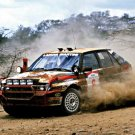 Biasion-Siviero Lancia Delta HF Integrale 1988 Safari Rally Winners #1 - Rally Car Photo Print