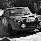 Paganelli-Russo Fiat 124 Abarth 1975 Portugal Rally - Rally Car Photo Print