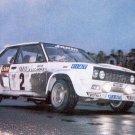 Jean-Claude Andruet Fiat 131 Abarth 1977 Monte-Carlo Rally - Rally Car Photo Print
