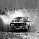 Markku Alen Fiat 131 Abarth 1977 Portugal Rally Winner - Rally Car Photo Print