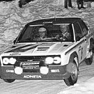 Timo Makinen Fiat 131 Abarth 1977 Swedish Rally - Rally Car Photo Print