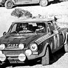 Maurizio Verini Fiat 124 Abarth 1976 Monte-Carlo Rally - Rally Car Photo Print