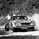 Maurizio Verini Fiat 124 Abarth 1975 Sanremo Rally - Rally Car Photo Print