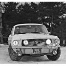 Ford Mustang at 1968 Monte-Carlo Rally - Rally Car Photo Print
