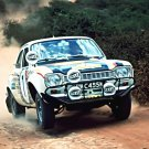 Hannu Mikkola Ford Escort RS 1972 Safari Rally - Rally Car Photo Print