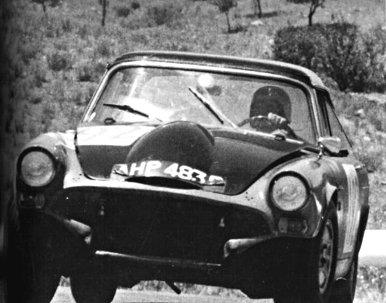 Harper-Jones Sumbeam Tiger Ford V8 4.7 at 1965 Targa Florio - Rally Car Photo Print
