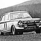 Jim Clark Ford Lotus Cortina at 1966 R.A.C. Rally - Rally Car Photo Print