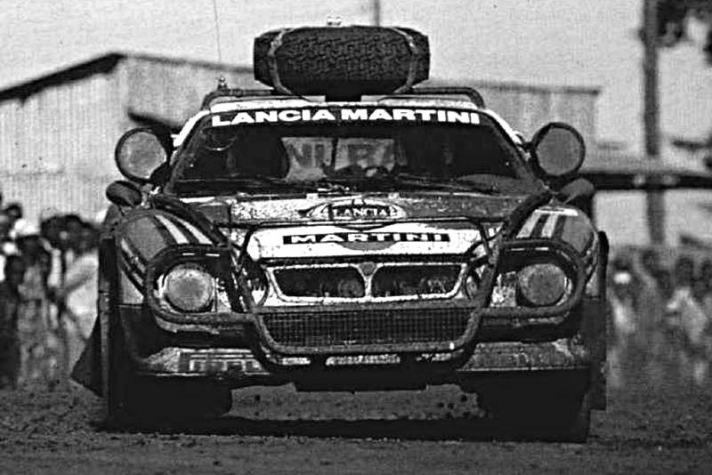 Alen-Kivimaki Lancia 037 1986 Safari Rally - Rally Car Photo Print