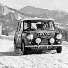 Aaltonen-Liddon Mini Cooper S 1966 Monte-Carlo Rally - Rally Car Photo Print