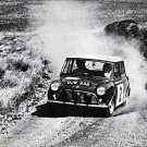 Fall-Wood Mini Cooper S 1966 Scottish Rally - Rally Car Photo Print