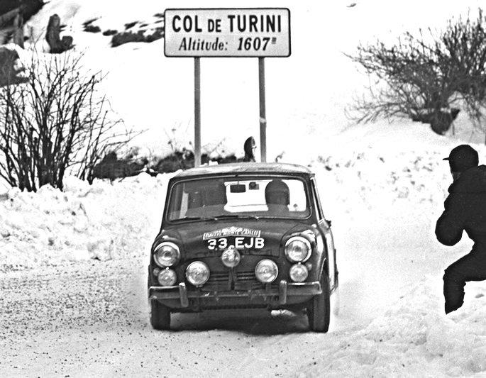 Paddy Hopkirk Mini Cooper S 1964 Monte-Carlo Winner #6 - Rally Car Photo Print