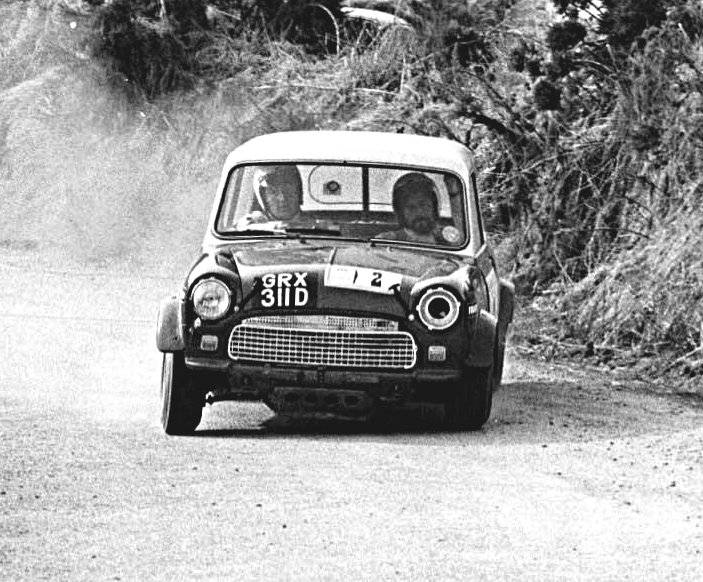 Hopkirk-Nash Mini Cooper S 1969 Circuit of Ireland - Rally Car Photo Print