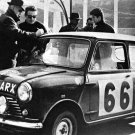 Hopkirk-Scott Mini Cooper S 1963 Monte-Carlo Rally - Rally Car Photo Print