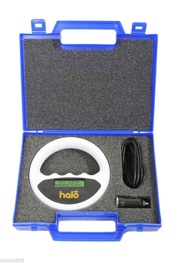 Microchip Pet Scanner, Halo Scanner, Microchip Reader, Pet Travel Scheme, Chip