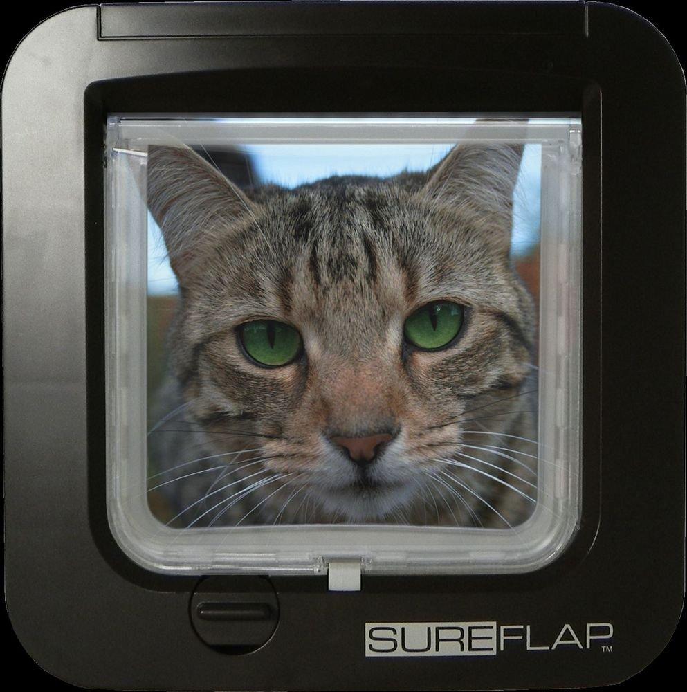 MICROCHIP CAT FLAP All chips worldwide 9, 10& 15- BROWN