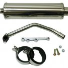 2nd Gen GY6 Round Stainless Performance Exhaust