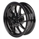 NCY Rear Wheel (Black, 10 Spoke); Honda Ruckus