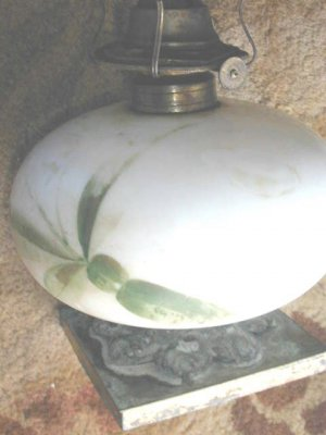 Early Pairpoint OIL Lamp Base #179