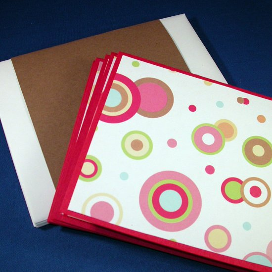 CIRCLE IT ... Circles, Circles Everywhere Greeting Card Set of 6