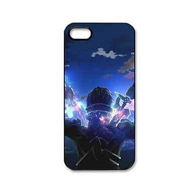 Anime Sword Art Online Aluminium Plastic Hard Back Case for iPhone 5/5S