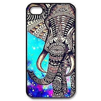 Elephant Aztec Aluminium Plastic Hard Back Case for iPhone 5/5S