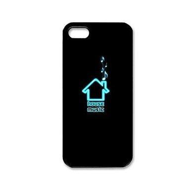 I Love House Music Aluminium Plastic Hard Back Case for iPhone 5/5S