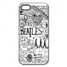 Mystic Zone Popular Band The Beatles  Aluminium Plastic Hard Back Case for iPhone 5/5S