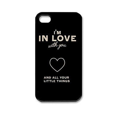 One Direction Quotes Aluminium Plastic Hard Back Case for iPhone 5/5S