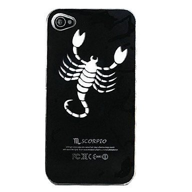New Sense Scorpio Aluminium Plastic Hard Back Case for iPhone 5/5S