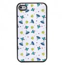 Free Shipping Lovely Pattern Aluminium Plastic Hard Back Cover Case for iPhone 4/4S