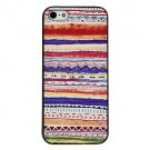 Free Shipping Candy Pattern Aluminium Plastic Hard Back Cover Case for iPhone 4/4S