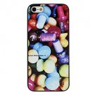 Free Shipping Colorful Candy Aluminium Plastic Hard Back Cover Case for iPhone 4/4S