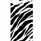Zebra Stripe Aluminium Plastic Hard Back Case for iPhone 4/4S