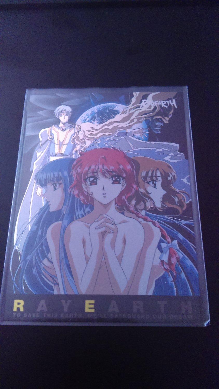 Rayearth OVA Collector Card SP 6/9 Border NM