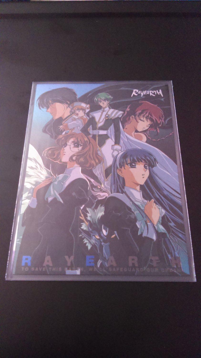 Rayearth OVA Collector Card SP 4/9 Border NM
